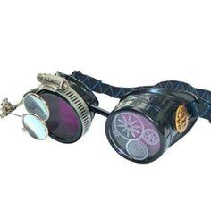 Steampunk Victorian Goggles welding Glasses diesel punk--P05