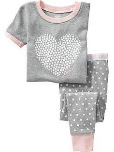 Dot-Print PJ Sets for Baby | Old Navy