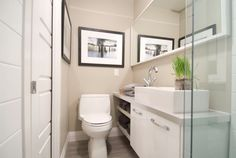 8 Ways to Make a Small Bathroom Look Bigger - from real estate and renovation expert Scott McGillivray