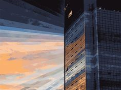 GIF Art Adds An Everlasting Dimension To Dusk And Dawn [Pics] - PSFK