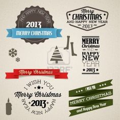 Vector Vintage Collection! #Christmas #2013