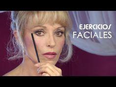 ▶ Gimnasia Facial Para Rebajar las Bolsitas de los Ojos y Papada - YouTube