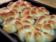Slané pletienky • recept • bonvivani.sk Hamburger, Bread, Food, Basket, Brot, Essen, Baking, Burgers, Meals
