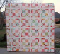 Charming Quilt pattern $7.00 on Craftsy at http://www.craftsy.com/pattern/quilting/home-decor/charming/51019