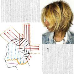 Simply Hairstyles, Hair Designs, Short Hair Styles, Hair Cutting Techniques, Short Hairstyles, Haircuts, Hairdos, Make Up, Art