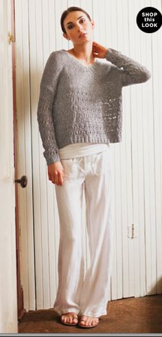 Effortless, comfortable post-partum style