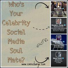 Pop Quiz: Who's Your Celebrity Social Media Soulmate? by deana Social Media Humor, Social Media Graphics, Social Media Marketing, Digital Marketing, Social Media Cheat Sheet, Disney Best Friends, Social Activities, Social Media Influencer, Celebrity
