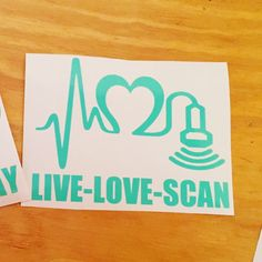 Show the love you have with your profession with this decal! Decal is done in high quality outdoor commercial grade vinyl. Size of decal is determined by width and height will be made to fit so it looks proportional. Vinyl colors: red, hot pink, black, white, grey, gold, lime green, hunter