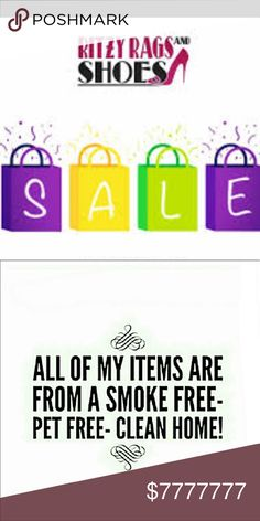 Everything goes 90% off sale❤️😍💃💃 Biggest closet clearance sale. All $4/$5 have to be purchased in bundles. Accessories