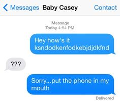 The Distracted Text: | 15 Texts Babies Wish They Could Send