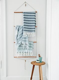 DIY Bathroom Towel Rack with Copper Pipes | Tutorial in Danish