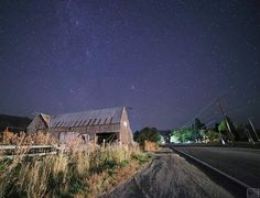 I try to ensure that each of my pictures evokes a particular feeling - whether it be by the character of the buildings,  perspective of objects in relation to each other,  the composition of the night sky,  or other items of interest.  comment what feeling this picture evokes in you?  #PicsByRicks #astrophotography #nightphoto #barn #farm #rural #road #mountains #milkyway #composition #canon #explore #picture #landscape #beautiful #hu_sky_nature1 #rokinoncontest