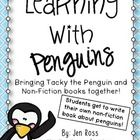 This pack is a great supplement to your penguin unit! It uses Tacky the Penguin books as well as non-fiction books to enhance your students' learni...