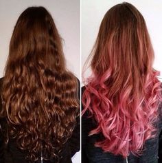 Transformation to pink