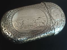 Victorian silver vesta Ebay
