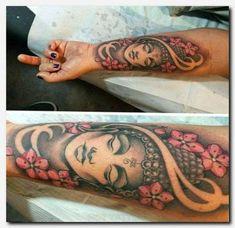 Marquesan Tattoos Buddha Tattoo Design female, … – foot tattoos for women quotes