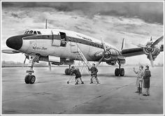 [c/n 4676] [aug57-feb72] [L1049G] Lockheed Super Constellation [EC-AMQ] [Iberia] [aug57] [may67] [Palos de Moguer]