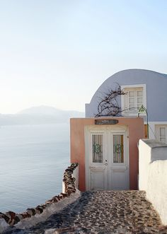 Oia, Santorini. I want to live here by Rosiecheeks, via Flickr