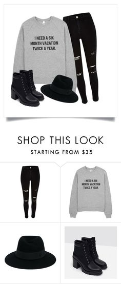 """Untitled #1"" by shannongomola on Polyvore featuring Maison Michel and Zara"