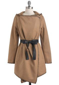 BB Dakota Couture de Force Coat | Mod Retro Vintage Coats | ModCloth.com