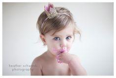Custom Mini Glittery Crown Headband , baby, Birthday, cake smash, 1st birthday, baby girl birthday, birthday, bride, wedding, Bachelorette by Kutiebowtuties on Etsy https://www.etsy.com/listing/224977648/custom-mini-glittery-crown-headband-baby