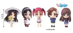 """In this set they are Chiyu and Scarlet Rain (two of my favorite characters) , and other girls from """"Accel world""""."""