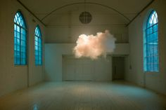 To be so close to a cloud, to be literally inside it, is a fleeting kind of joy. Artist Berndnaut Smilde brings something like this to galleries, carefully controlling the humidity and temperature to bring real clouds into being for a few minutes.