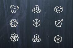 Geometric Logos on Behance