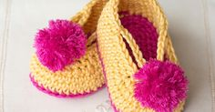 Hopeful Honey | Craft, Crochet, Create: Lollipop Circus Baby Booties - Free Crochet Pattern