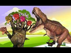 Dinosaur Finger Family Nursery Rhyme for Children with lyrics Kids Nursery Rhymes, Rhymes For Kids, Finger Family Rhymes, English Rhymes, Kids Songs, 3d Animation, Kids Education, Pre School, Little Babies