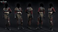 Some main NPC's outfits I did for The Witcher 3 - Wild Hunt The Witcher 3, Witcher Armor, Ciri Witcher, Witcher 3 Wild Hunt, Fantasy Armor, Medieval Fantasy, Fantasy Weapons, Fantasy Illustration, Character Illustration