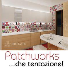 Design Far All - Patchworks con decori e colori  personalizzabili in kerlite, gres e cotto by No Name Design (Produzione Ceramiche Duraker)