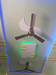 Simple False Ceiling Design, Pop Ceiling Design, Bedroom False Ceiling Design, Pop Design, Gypsum, Ceiling Fan, Interior, Home Decor, Plaster