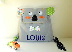 Le sac à dos Koala personnalisable avec le prénom est idéal pour l'entrée en école maternelle, la crèche ou pour aller chez la nounou  Vous composez le sac de votre enfant  - 20616564
