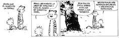 Dicen que el mundo es un teatro (Calvin y Hobbes)