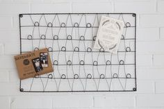 Wall Mounted Wire Card Holder