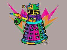 Tripping Dalek