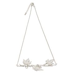 Forest Realm Necklace Silver Retail Price: AUD $99.95 Available now at www.kitte.com.au