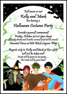 1000 Images About Halloween Party Invitations On Pinterest Invitations