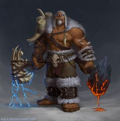 World Of Warcraft Characters, Dnd Characters, Fantasy Characters, Warcraft Orc, Warcraft Movie, Orc Warrior, Fantasy Warrior, Wow Shaman, Fantasy Character Design