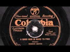 ▶ A Good Man Is Hard To Find  - Bessie Smith - YouTube