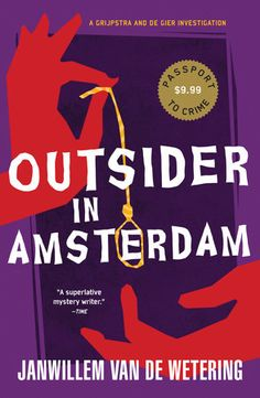 Outsider in Amsterdam Book Cover Picture