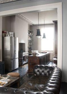 man's apartment