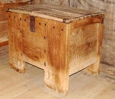 St. Thomas guild - medieval woodworking, furniture and other crafts: chest