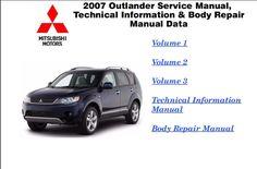 Mitsubishi 2016  Repair Service Manuals: MITSUBISHI OUTLANDER 2007 REPAIR SERVICE MANUAL