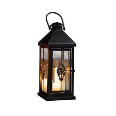 PierSurplus Present Metal European-Style Hanging Candle Lantern Holder Rustic Wedding Decorations Medium 19 in