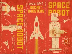 Vintage toy : Space Robot