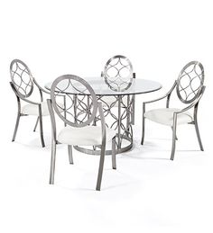 """""""Chanel"""" dining set by Johnston Casuals Furniture  http://johnston.nextmp.net/index.php/chanel-dining-set.html"""