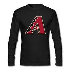 Arizona Diamondbacks Team Logo Long Tee Shirts
