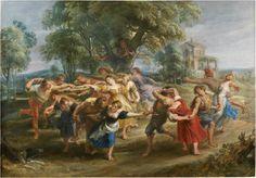 La danza de los aldeanos, Rubens